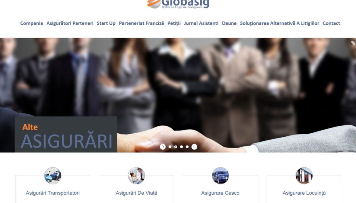 Vechiul www.globasig.ro